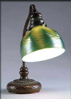 Tiffany Favrile Shade Desk Lamp