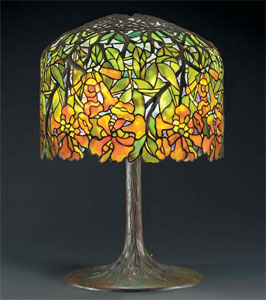 Beau Antique Tiffany Lamps And Original Tiffany Lamps